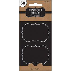 Chalkboard Stickers 50ct