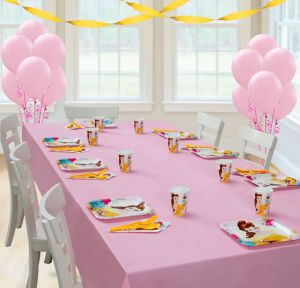 Beauty and the Beast Basic Party Kit for 8 Guests