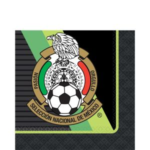 Mexico National Team Lunch Napkins 16ct