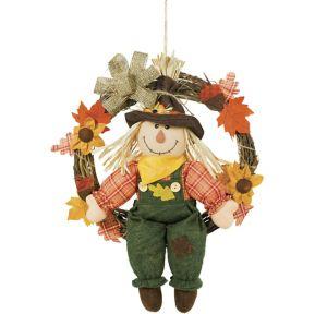 Scarecrow Wreath