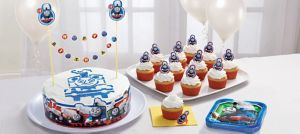 Thomas the Tank Engine Dessert Decorating Kit for 12