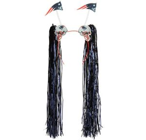 New England Patriots Head Bopper with Fringe