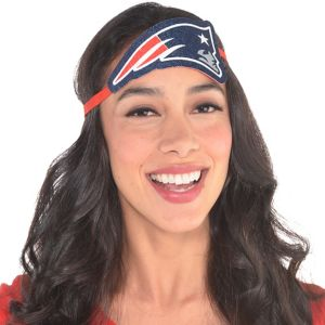 New England Patriots Logo Headband