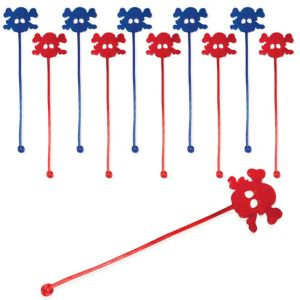Sticky Skull & Crossbones Toys 48ct