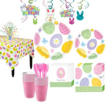 Eggstravaganza Tableware Kit for 16 Guests