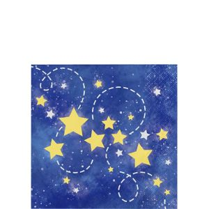 Moon & Stars Beverage Napkins 16ct