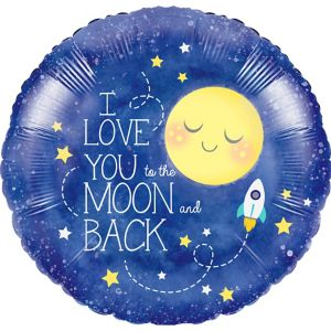 Moon & Stars Balloon
