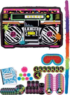 Boom Box Pinata Kit with Favors