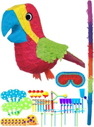 Parrot Pinata Kit with Favors