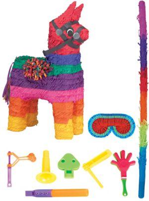 Rainbow Donkey Pinata Kit with Favors