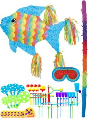 Tropical Fish Pinata Kit with Favors