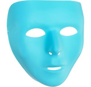 Turquoise Face Mask