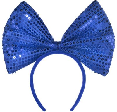 Blue Bow Headband 8 1 2in  0bda910093e