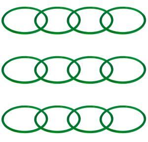 Green Bracelets 12ct