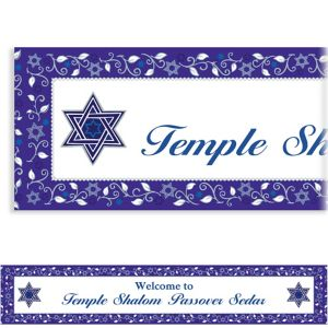 Custom Joyous Passover Banner