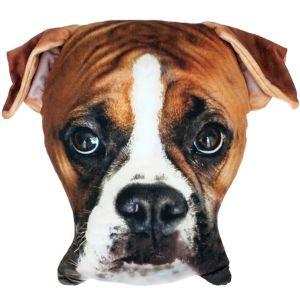Boxer Dog Pillow Plush
