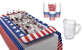 Patriotic Drink Table Kit