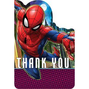Spider-Man Webbed Wonder Thank You Notes 8ct