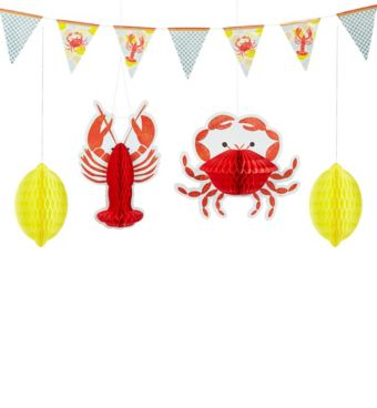 Seafood Fest Decorating Kit