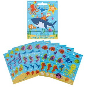 Ocean Buddies Sticker Book 9 Sheets
