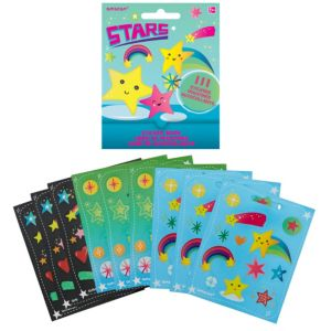 Stars Sticker Book 9 Sheets