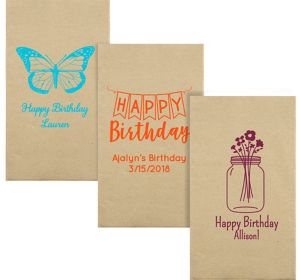 Personalized Birthday Eco-Friendly Guest Towels