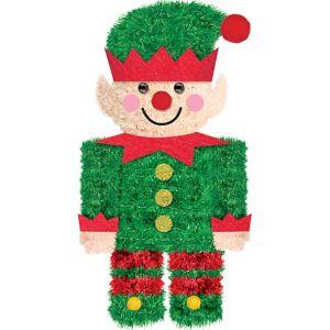 Mini 3D Tinsel Elf Decoration