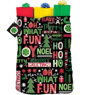 Joyful Holiday Gift Sack