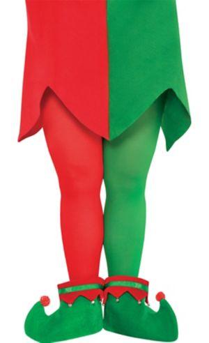 Adult Elf Tights Plus Size