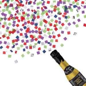 Glitter Gold New Year S Bottle Confetti Popper 2in X 6 1