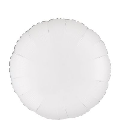 White Round Balloon