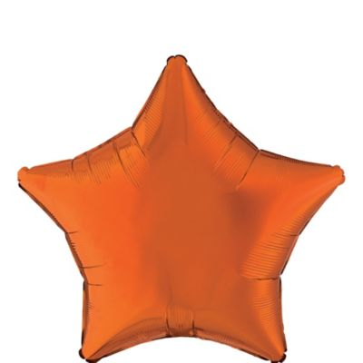 Orange Star Balloon