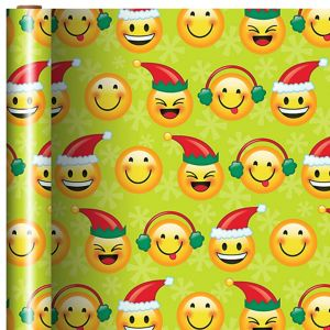 Smiley Christmas Gift Wrap