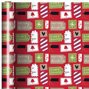 Christmas Gift Tags Gift Wrap