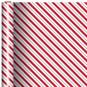 Candy Cane Stripes Gift Wrap