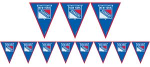 New York Rangers Pennant Banner
