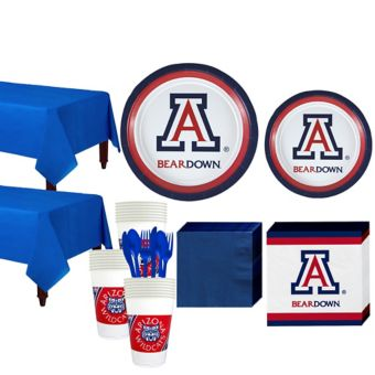 Arizona Wildcats Basic Party Kit for 40 Guests