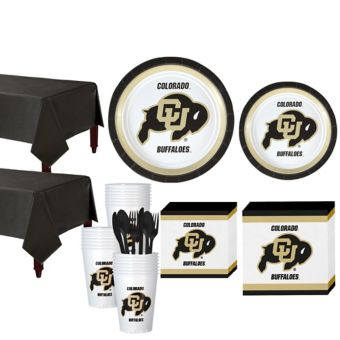 Colorado Buffaloes Basic Party Kit for 40 Guests