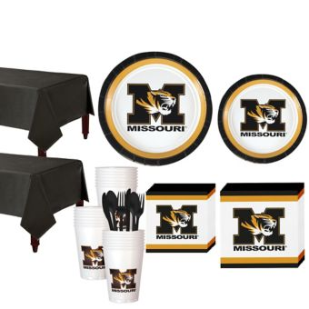 Missouri Tigers Basic Party Kit for 40 Guests
