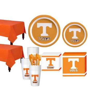 Tennessee Volunteers Basic Party Kit for 40 Guests