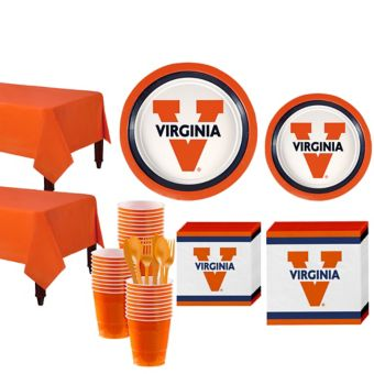 Virginia Cavaliers Basic Party Kit for 40 Guests
