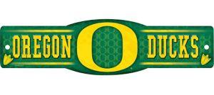Oregon Ducks Street Sign