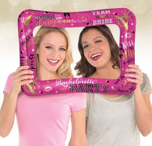 Inflatable Bachelorette Party Photo Frame Balloon