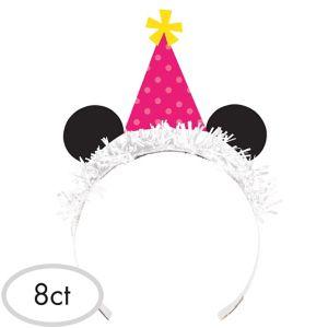 Panda Tiara Headbands 8ct