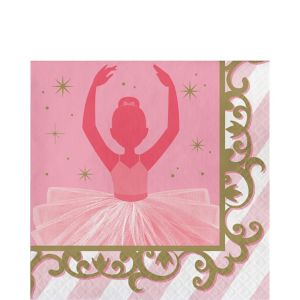 Ballerina Lunch Napkins 16ct