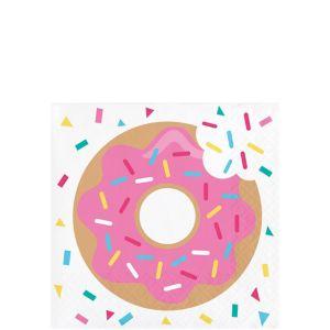 Donut Beverage Napkins 16ct