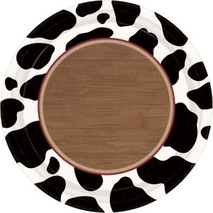 Yeehaw Western Dinner Plates 8ct