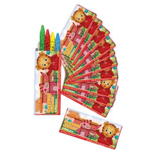 Daniel Tiger's Neighborhood Crayon Boxes 12ct