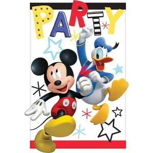 Mickey Mouse Invitations 8ct