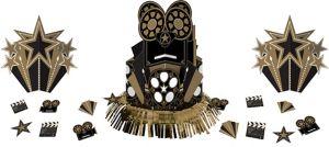 Metallic Hollywood Table Decorating Kit 23pc